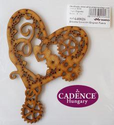 Cadence Spanyol MDF 640026 LOVE szív