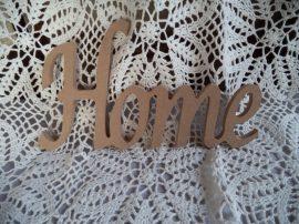 Cadence MDF HOME felírat  24x15x0,8cm
