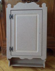 Cadence MDF egy ajtós szekrény DLP-04 33*55*14cm