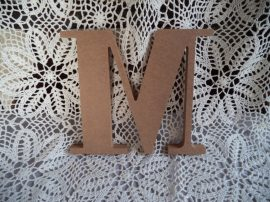 Cadence MDF nagy méretű M betű  20 cm
