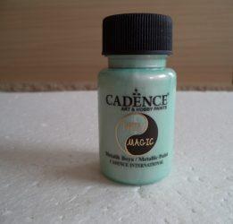 Cadence  TM-01 Twin magic metál festék teal-red