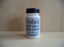 Cadence_WSH02 Very_Chalky_Wash effect_ festek_antik fehér 90ml