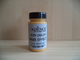 Cadence_WSH03 Very_Chalky_Wash effect_festek_oxide sárga 90ml