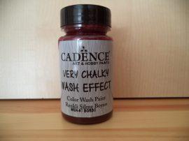 Cadence_WSH07 Very_Chalky_Wash effect_ festek_Bordeaux 90ml