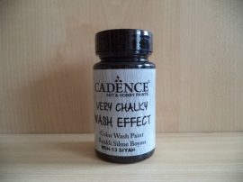 Cadence_WSH13 Very_Chalky_Wash effect_festek_fekete 90ml