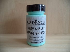 Cadence_WSH14 Very_Chalky_Wash effect_festek_nile green 90ml
