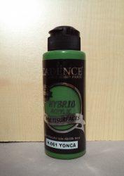 cadence  H-061 akril hybrid festék lóhere zöld 120ml