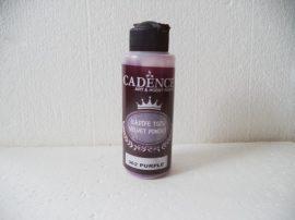 Cadence bársony por 362 purple lila 120ml