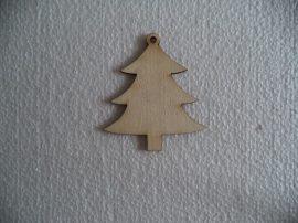 Natúr fa fenyőfa 6,5*6cm 1db