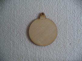 Natúr fa fenyőfa  dísz 8cm 1db