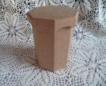 cadence  KU-268 hatszögletű fedeles doboz 16*11*10,5cm
