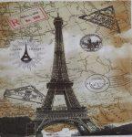 szalvéta  P69_Paris Eiffel Torony