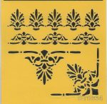 ITD stencil 16*16cm ST0034