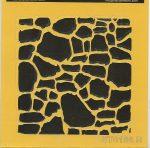 ITD stencil 16*16cm ST0186 B