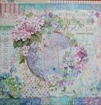 Stampéria kétoldalas Scrapbooking papír SBB696 30,5*30,5cm