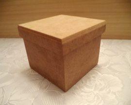 cadence MDF KT-63 fedeles négyszögletű doboz 13*13*11cm