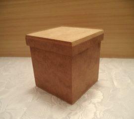 cadence MDF KT-64 fedeles négyszögletű doboz 13*13*14cm
