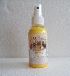 cadence_textil_spray FS-1102 gyöngyházfényű metál sárga_100ml