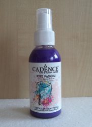 Cadence Your Fashion textil spray 1120 purple 100ml