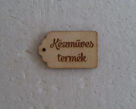 """fa """"Kézműves termék"""" tábla 1db 3540"""