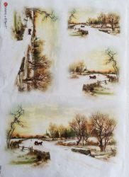 paperdesigne rizspapír A3 viewsi 0066