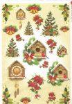 paperdesigne rizspapír A4 chri-0145