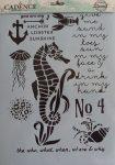 cadence stencil sablon série AS-561 21*29