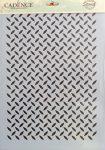 cadence stencil sablon série A4  AS-578  21*29