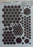 cadence stencil sablon série A4 MA-48 21*29