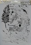 cadence stencil sablon série MA-69 21*29