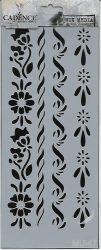 cadence stencil sablon série MU-47 25*10