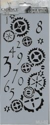 cadence stencil sablon série MU-62 25*10