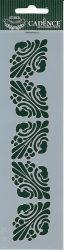 cadence stencil sablon série k 168  20*6cm