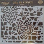 cadence stencil sablon Grunch  kollekció GCS-003 25*25cm