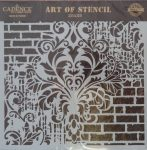 cadence stencil sablon Grunch  kollekció GCS-002 25*25cm