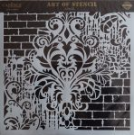 cadence stencil sablon Grunch  kollekció GCS-002 45*45cm