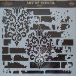 cadence stencil sablon Grunch  kollekció GCS-003 45*45cm