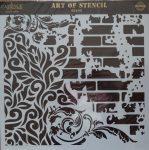 cadence stencil sablon Grunch  kollekció GCS-005 45*45cm
