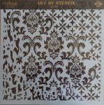 cadence stencil sablon Grunch kollekció GCS-008 45*45cm