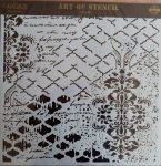 cadence stencil sablon Grunch kollekció GCS-012 45*45cm