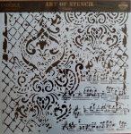 cadence stencil sablon Grunch kollekció GCS-014 45*45cm