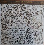 cadence stencil sablon Grunch kollekció GCS-015 45*45cm
