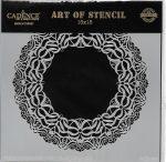 cadence stencil sablon dekoratív  kollekció DCS-003 15*15cm