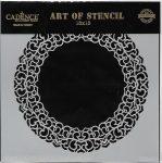 cadence stencil sablon dekoratív  kollekció DCS-007 15*15cm