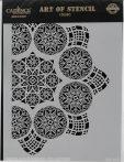 cadence stencil sablon dekoratív  kollekció DC-015 15*20cm