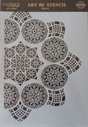 cadence stencil sablon dekoratív  kollekció DC-015 25*36cm