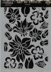 cadence stencil sablon flower kollekció FSC-001  21*29