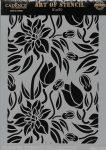cadence stencil sablon flower kollekció FSC-003  21*29