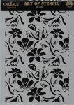 cadence stencil sablon flower kollekció FSC-004  21*29