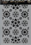cadence stencil sablon flower kollekció FSC-009  21*29